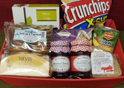 £25 hamper contents